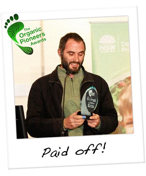 The Organic Pioneers Awards
